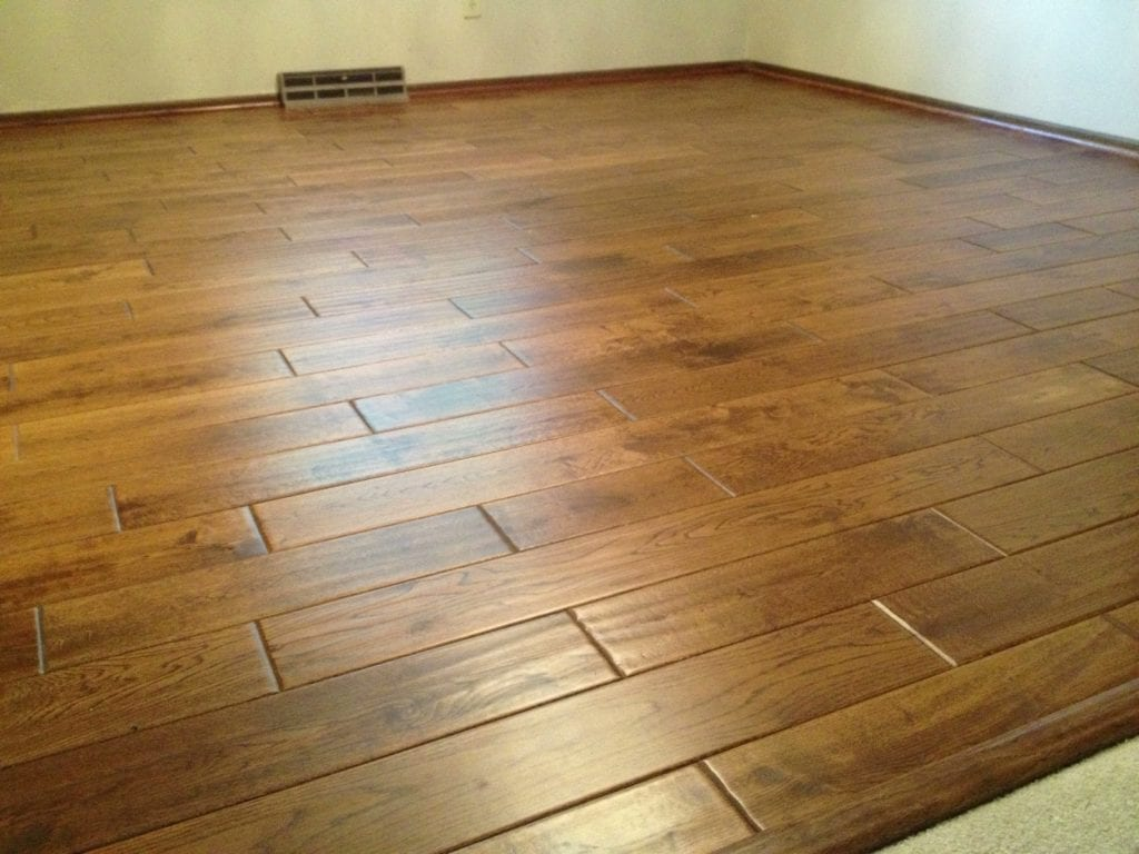 Hardwood flooring by Artistic Home Finishes