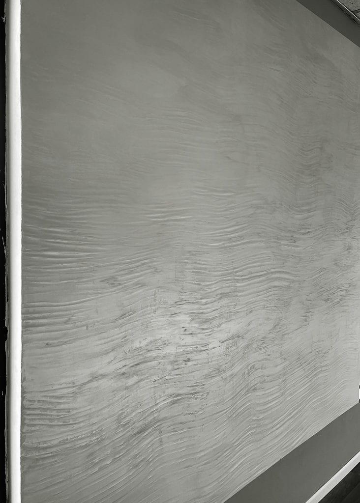 Decorative wall finish_ Marmorino Metallic