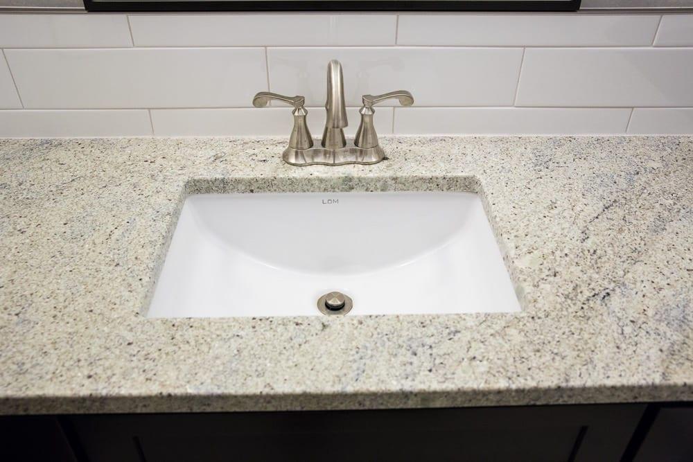Bathroom sink up grade